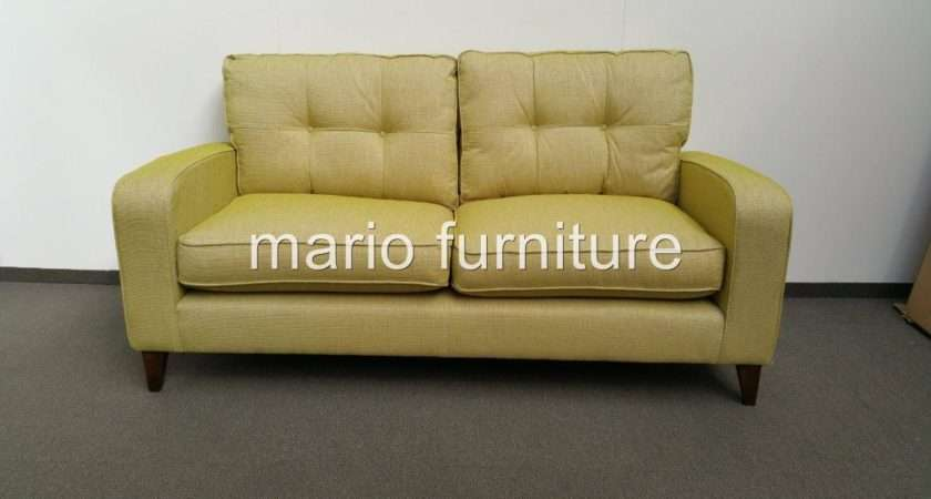 John Lewis Leather Sofa Verve Lime Green Color