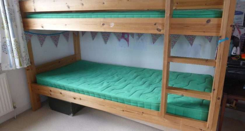 John Lewis Wooden Pine Single Bunk Beds Kelvindale Glasgow