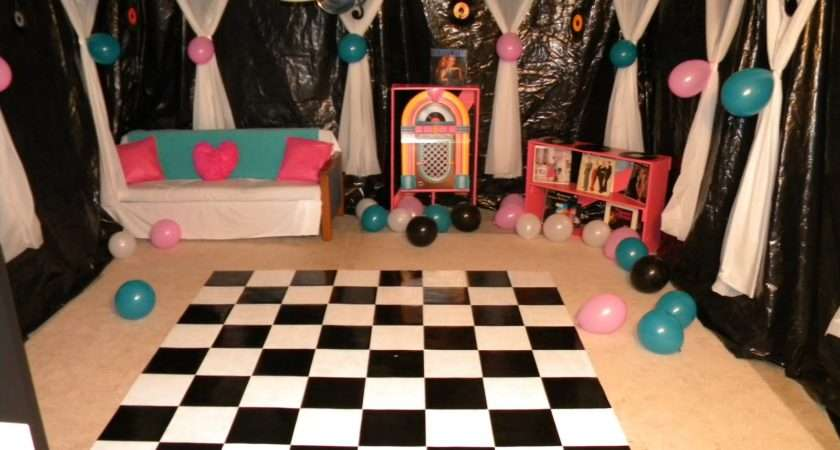 Just Frugal Mom Sock Hop Party