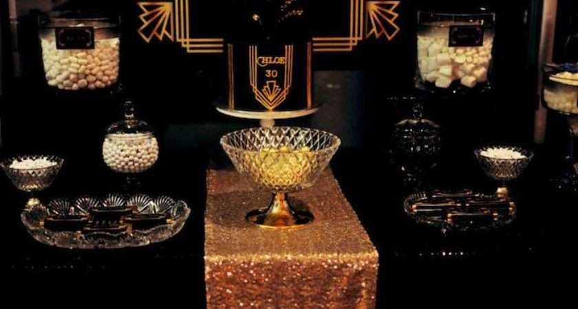 Kara Party Ideas Great Gatsby Themed Birthday Styling
