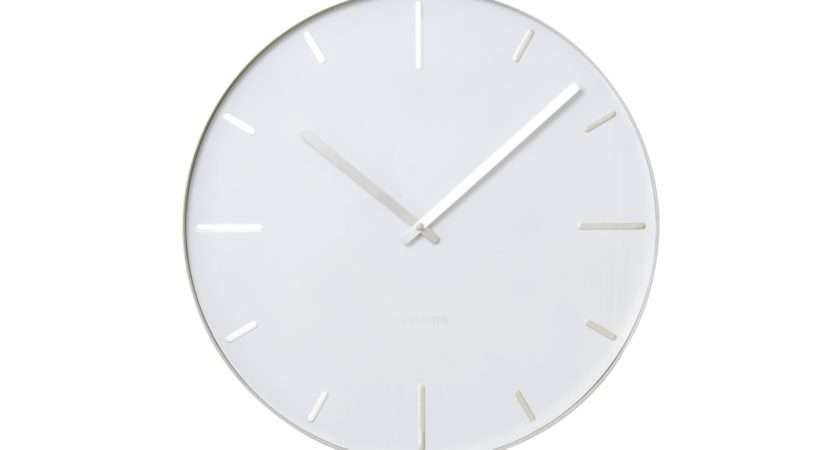 Karlsson Belt Round Stylish Modern Home Wall Clock Office Fashion