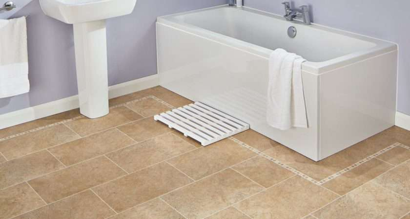 Karndean Knight Tile Bath Stone Vinyl Flooring