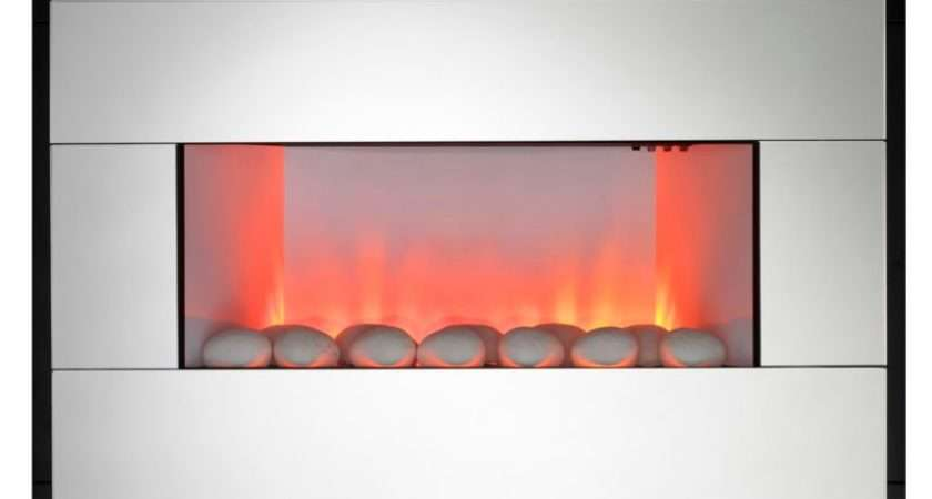 Kavachi Contemporary Mirror Wall Hung Electric Fire Customer