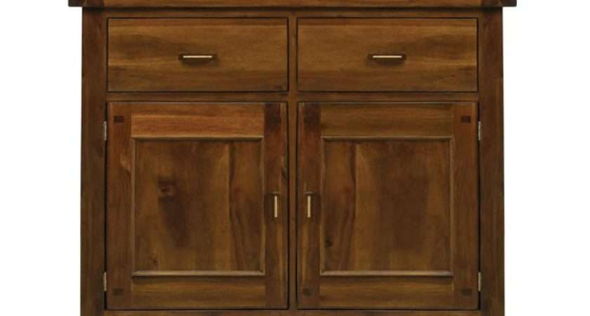 Kember Acacia Small Sideboard Sideboards Living Room