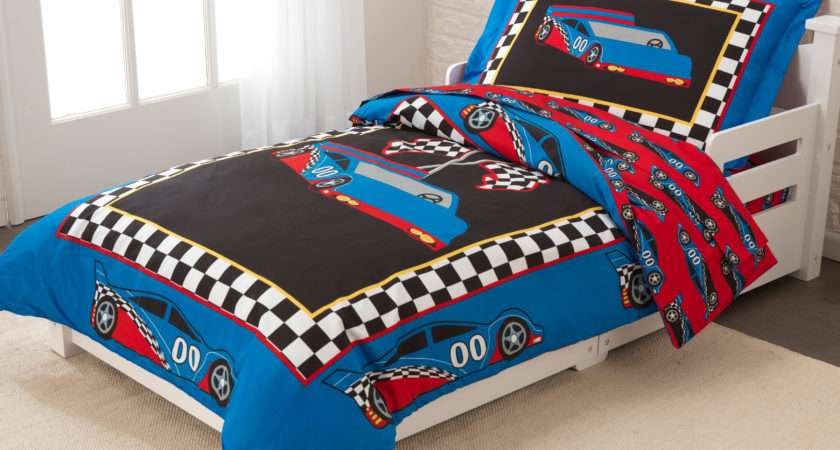 Kidkraft Race Car Toddler Bedding Set