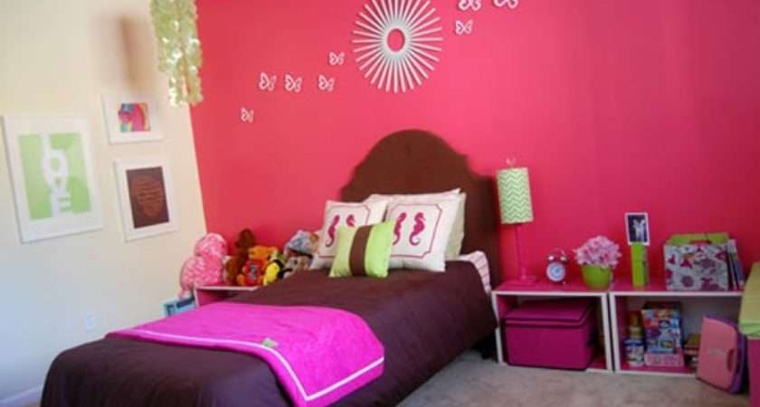 Kids Bed Bedroom Decor Decorating