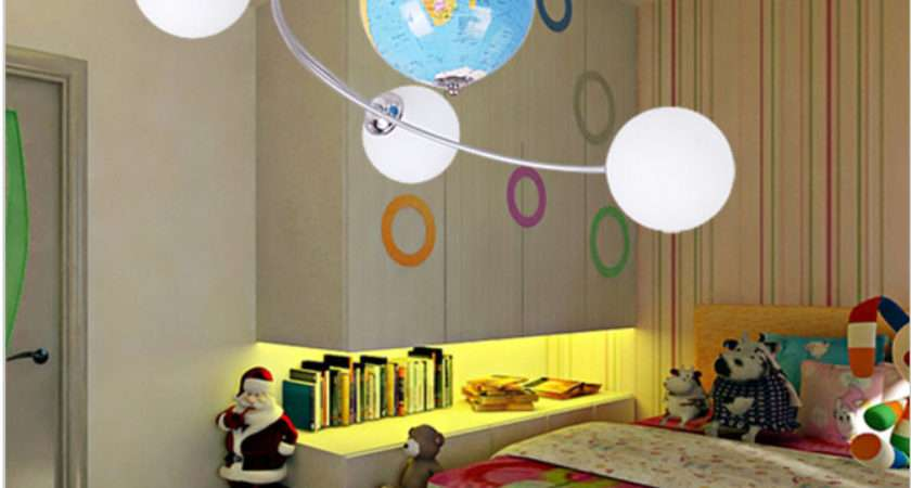 Kids Bedroom Lights Home Decor Takcop