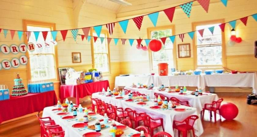 Kids Birthday Party Decoration Ideas Home Make
