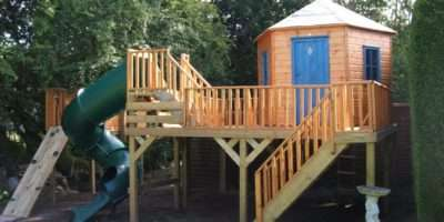 Kids Outdoor Wooden Playhouse Ideas Loccie Better Homes
