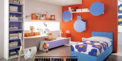 Kids Room Color Schemes Red Blue