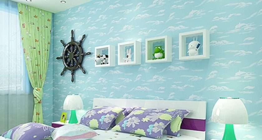 Kids Room Decorating Cartoon Sea Homescorner