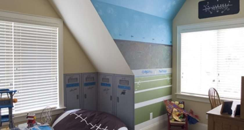 Kids Room Furniture Ideas Sports Themed Rooms