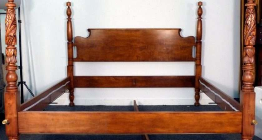 King Empire Style Poster Bed Frame Lot