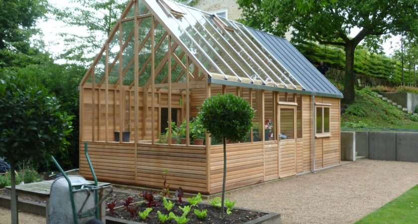 Kings Bromley Greenhouse Home Office Extension