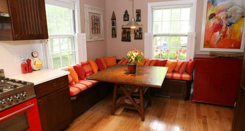 Kitchen Banquette Seating Booth Washin