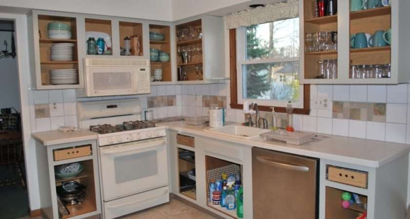 Kitchen Cabinet Ideas Open Face