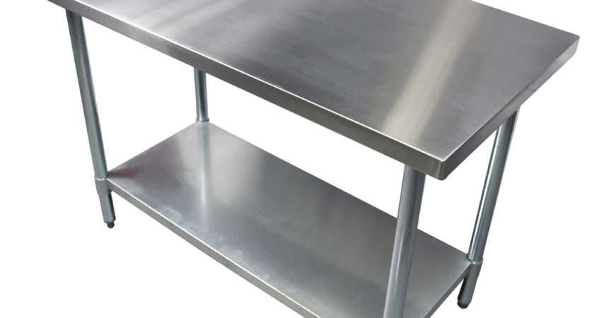 Kitchen Cart Stainless Steel Top Island Table