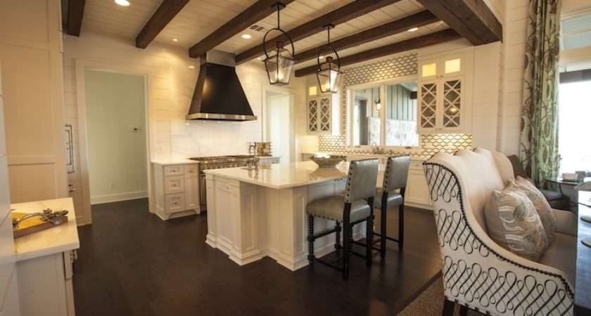 Kitchen Ceiling Beams Cottage Southern Living