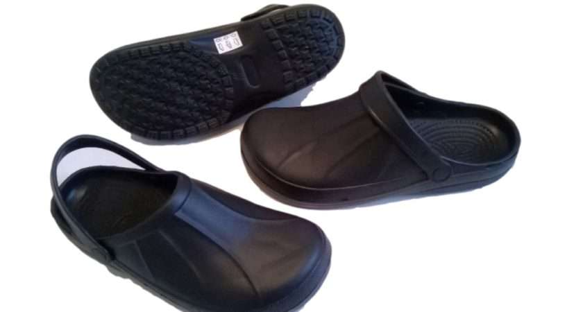 Kitchen Clogs Black Chefs Shoes Safety Footwear