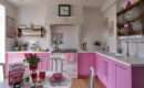Kitchen Cute Pink Design Ideas Melina Divani