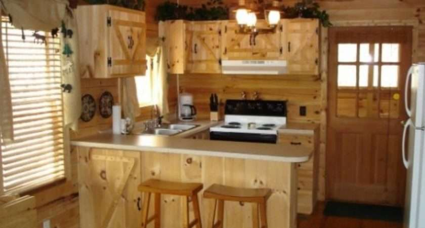 Kitchen Decorating Ideas Rustic Home Inspired Small