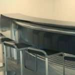 Kitchen Designs Curved Breakfast Bar Dining Table