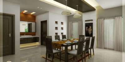 Kitchen Dining Interiors Kerala Home Design