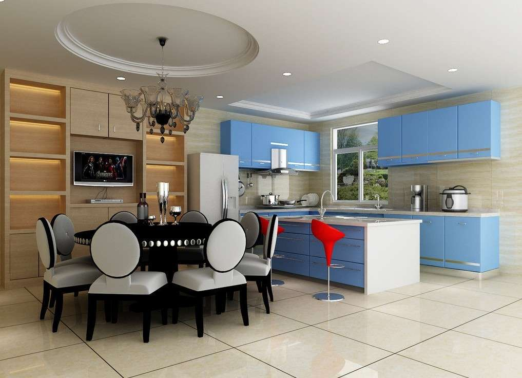 Kitchen Dining Room Design Glass Screen House