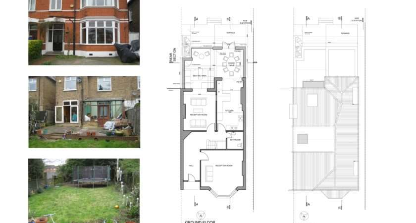 Kitchen Extension Drawings