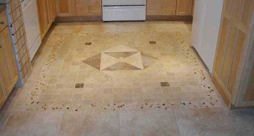 Kitchen Floor Tile Patterns Glamorous Travertine