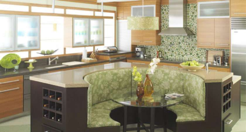 Kitchen Island Booth Seating House Furniture