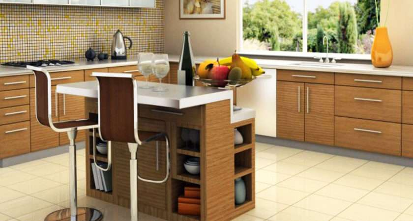 Kitchen Island Designs Small Space Homefurniture