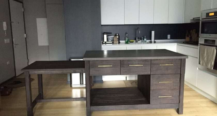 Kitchen Island Pull Out Table