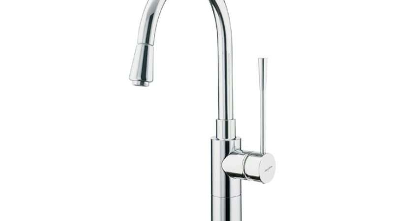 Kitchen Mixer Tap Swivel Spout Pull Out Spray