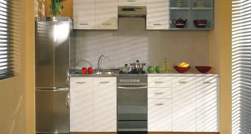 Kitchen Narrow Cabinets Design Minimalist