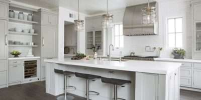 Kitchen Nautical Cage Pendants Transitional