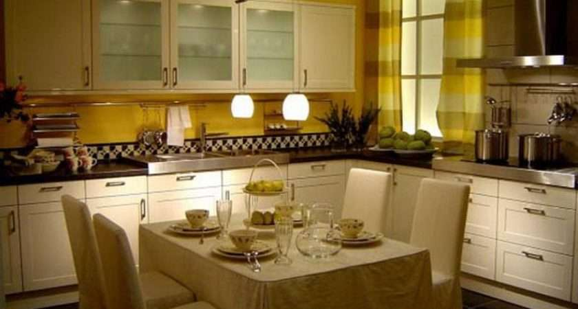 Kitchen Small Dining Room Decorating Ideas