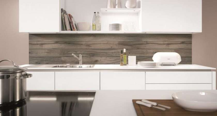 Kitchen Splashback Grey Oak Reproduction Nobilia Kitchens