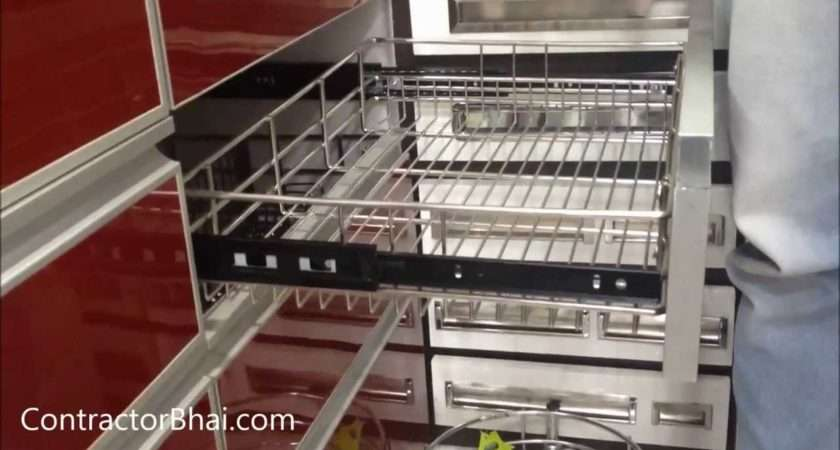 Kitchen Trolley Designs Contractorbhai Youtube