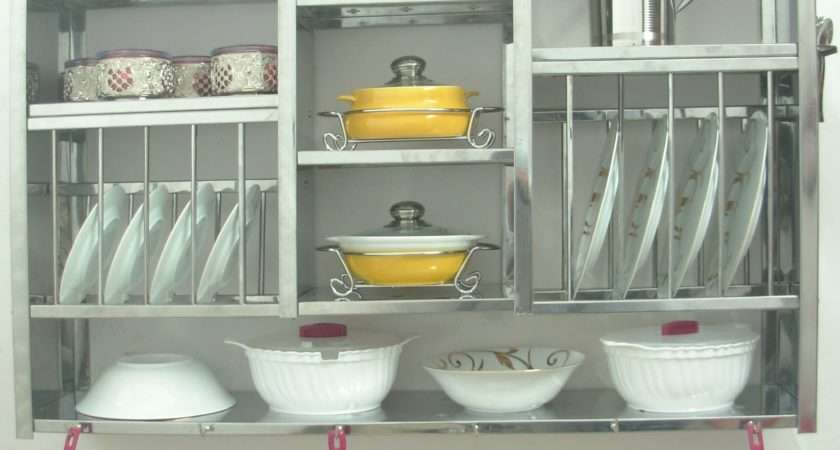 Kitchen Wall Shelves Dishes