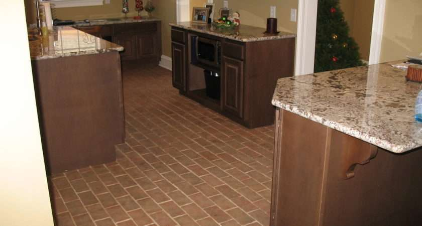 Kitchens Inglenook Brick Tiles Thin Flooring Pavers