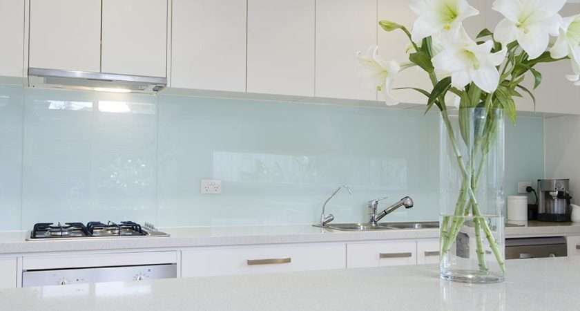 Kitchens Showers Laundries More Glass Splashbacks Can Used
