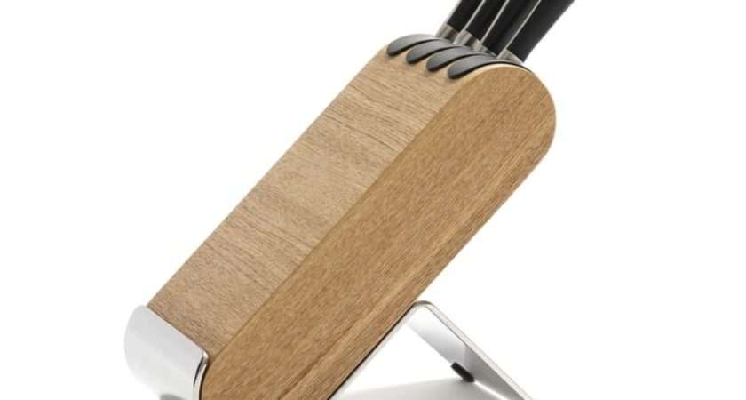 Knife Block Set Ash Robert Welch