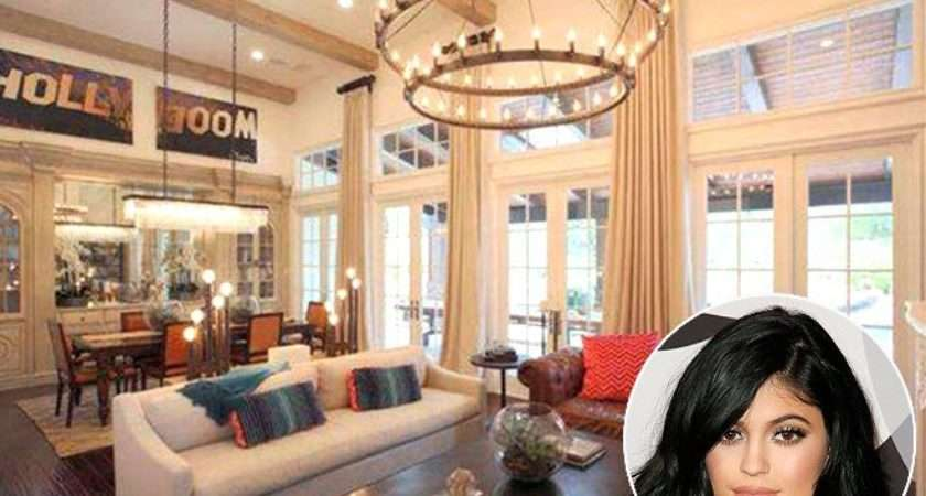 Kylie Jenner New House Celebrity Homes Mansion Photos