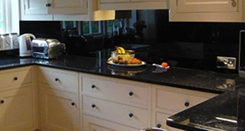 Labels Black Kitchen Splashback Better Ideas