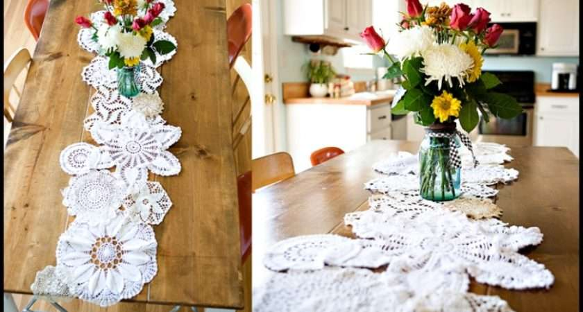 Lace Doily Recycling