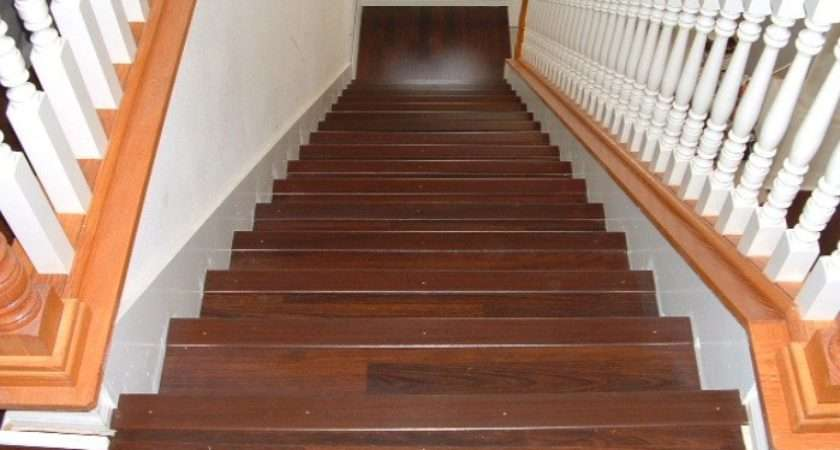 Laminate Flooring Stairs Landing Wooden Home
