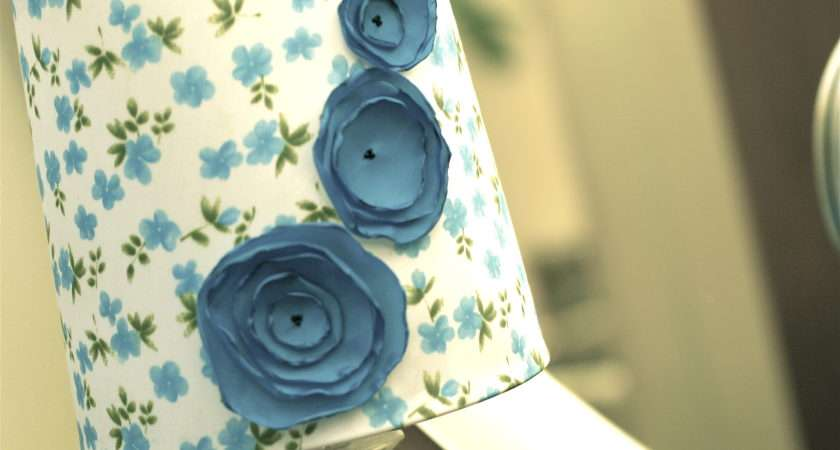 Lampshade Butcher News Wrapping Paper Pencil Spray Adhesive