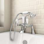 Lancaster Traditional Bath Shower Mixer Kit