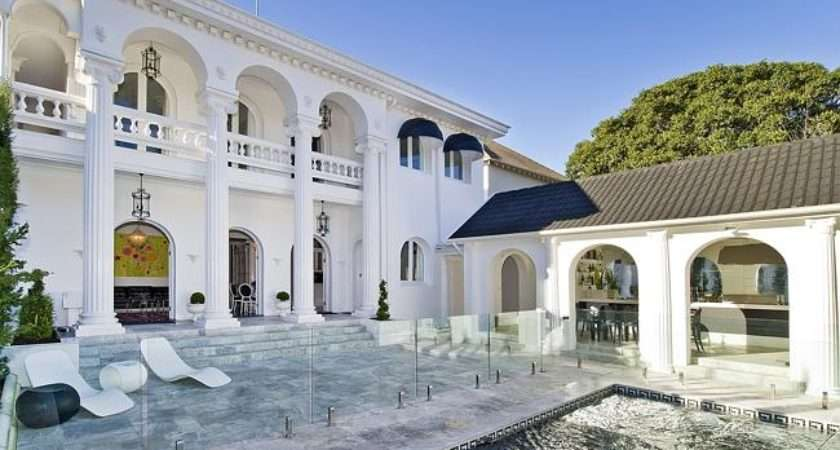 Landmark Bellevue Hill Hollywood Regency Style Home Sold